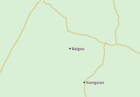 Baigou Map