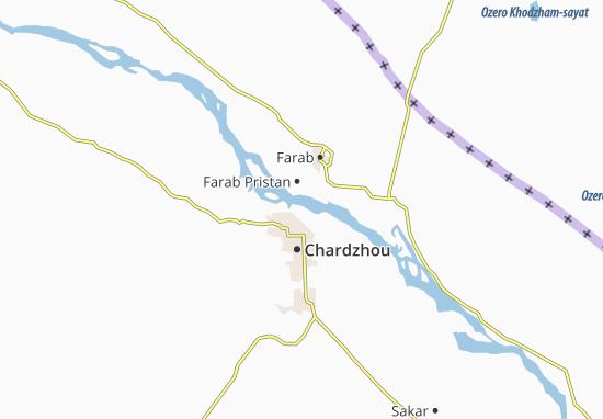 Mapas-Planos Turkmenabat