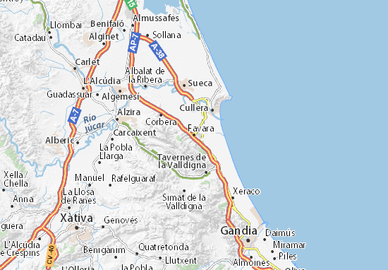 Mapas-Planos Favara