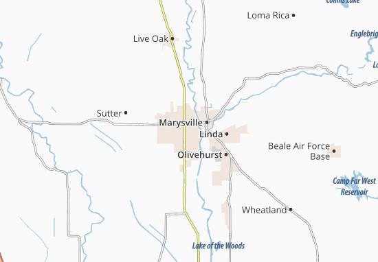 Mappe-Piantine Yuba City