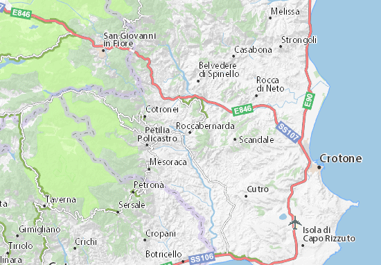 Mappe-Piantine Roccabernarda