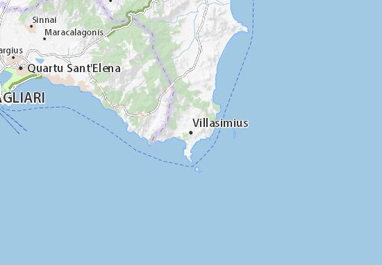 Mappe-Piantine Villasimius