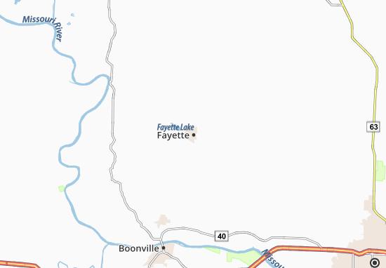 Fayette Map
