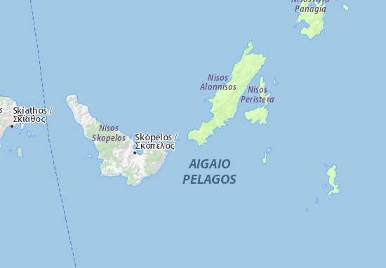 Alonissos Map: Detailed maps for the city of Alonissos - ViaMichelin
