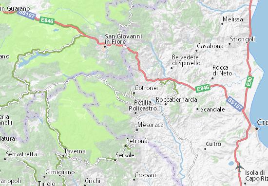 Mappe-Piantine Cotronei
