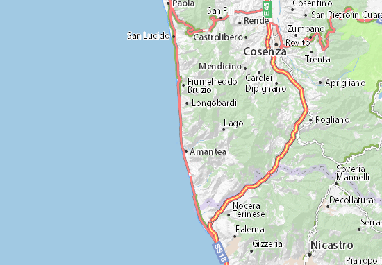 Mappe-Piantine Belmonte Calabro