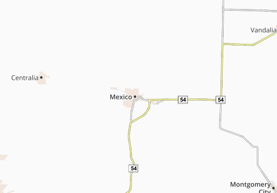 All ViaMichelin for Mexico. Map of Mexico   Michelin Mexico map   ViaMichelin