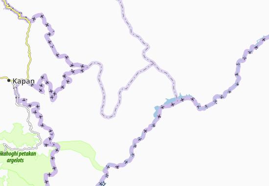 Agaly Pervyye Map
