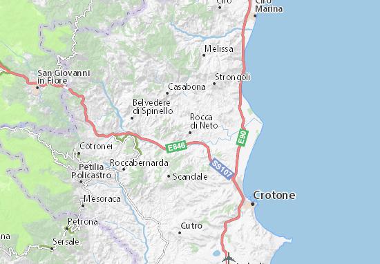 Mappe-Piantine Rocca di Neto