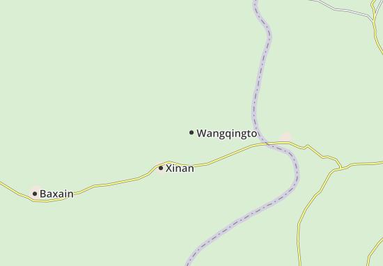 Wangqingto Map