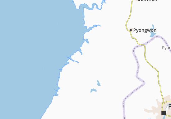 Kaart Plattegrond Hwajin-Ni