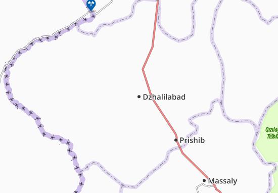 Dzhalilabad Map