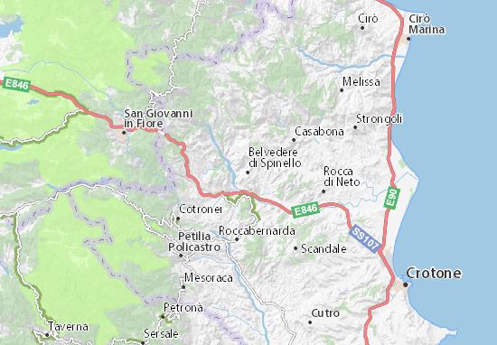 Mappe-Piantine Belvedere di Spinello