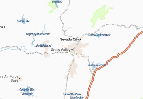 Mappe-Piantine Grass Valley