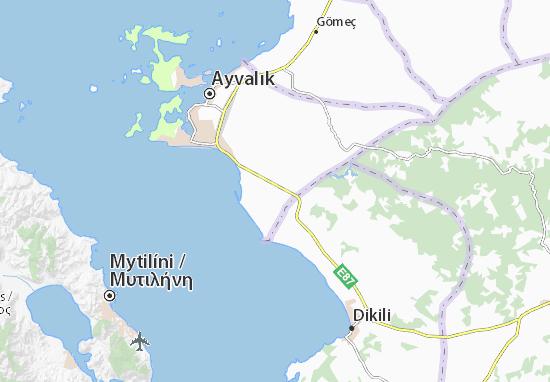 Carte-Plan Altınova