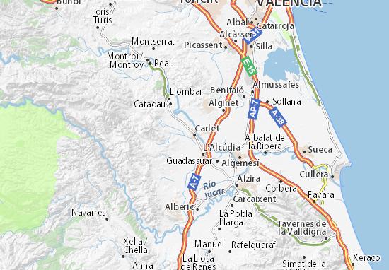 Carlet Map