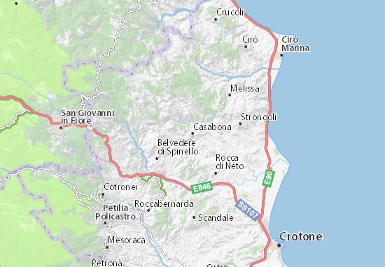 Mappe-Piantine Casabona