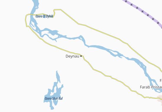 Mapa Plano Deynau
