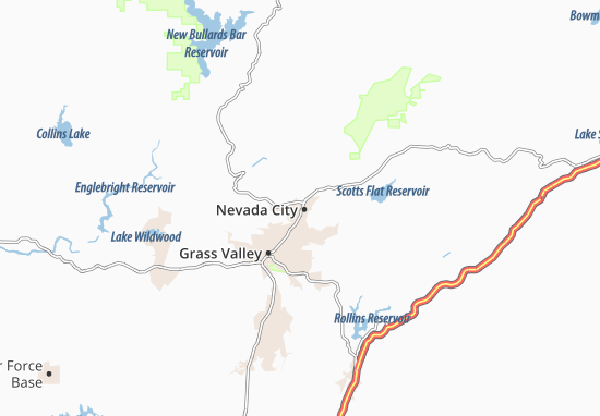 Nevada City Map