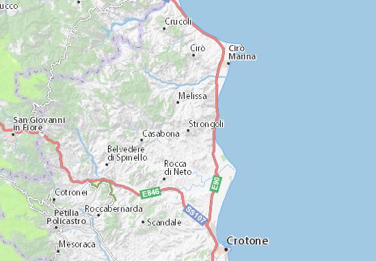 Mappe-Piantine Strongoli