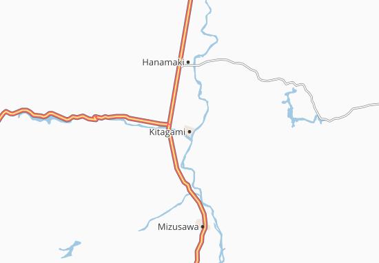 Mapas-Planos Kitagami