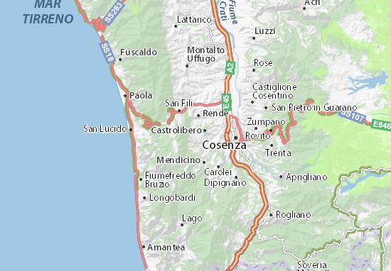 Mappe-Piantine Marano Principato