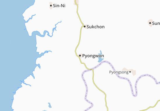 Mappe-Piantine Pyongwon