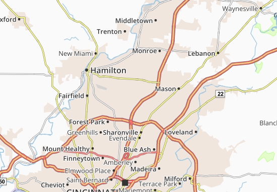 Mappe-Piantine Beckett Ridge