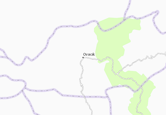 Carte-Plan Ovacık