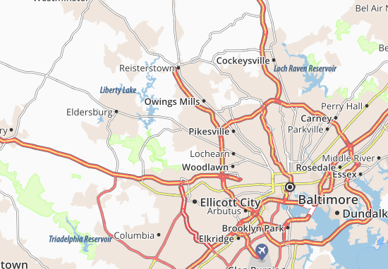Randallstown Map