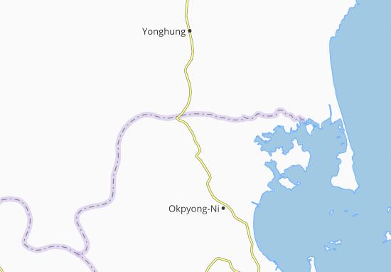 Kaart Plattegrond Munchon