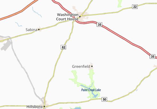 New Martinsburg Map
