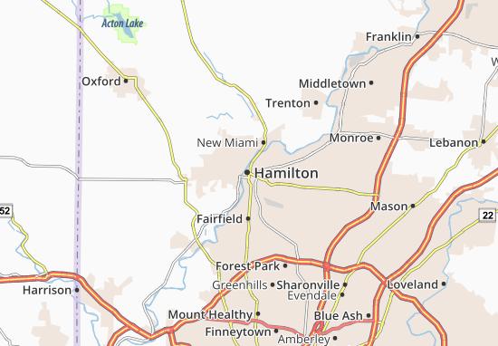 Carte-Plan Hamilton