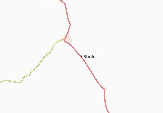 Kaart Plattegrond Shule