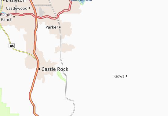 Carte-Plan Ponderosa Park