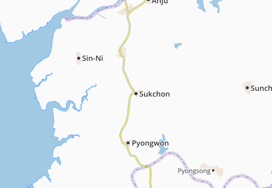 Mappe-Piantine Sukchon