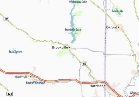 Mapas-Planos Brookville