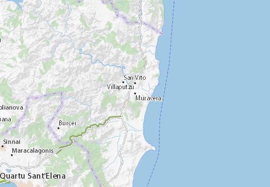 Mappe-Piantine Muravera