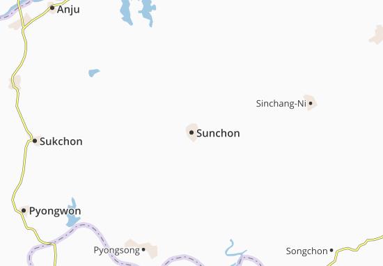 Mapa Sunchon