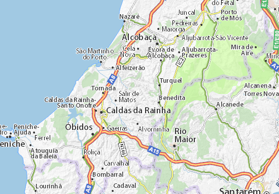 abrunheira mapa Mapa Abrunheira   plano Abrunheira  ViaMichelin abrunheira mapa