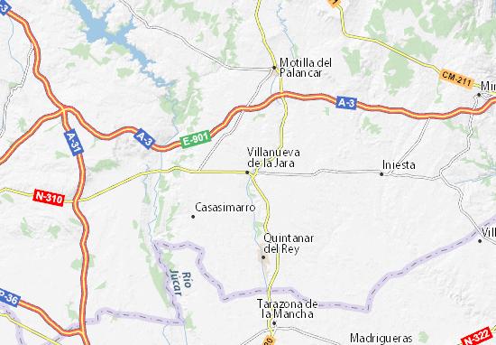 Mapas-Planos Villanueva de la Jara