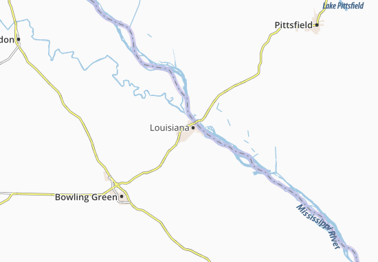 Map of Louisiana Michelin Louisiana map ViaMichelin – Tourist Attractions Map In Louisiana