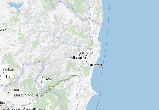 Mappe-Piantine San Vito