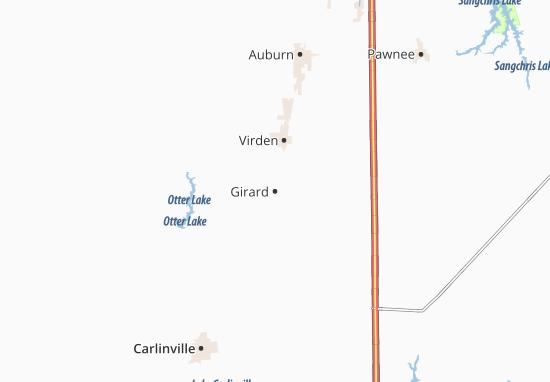 Mapa Plano Girard
