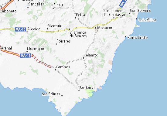 Mapas-Planos Felanitx