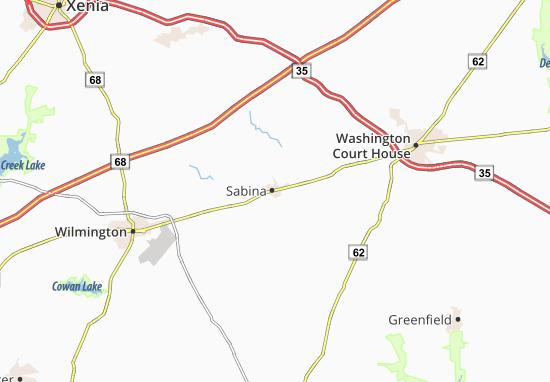 Sabina Map