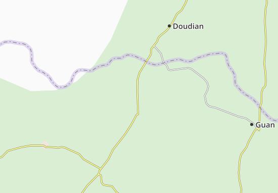 Zhuozhou Map