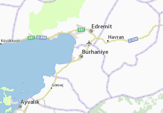 Mapa Plano Burhaniye