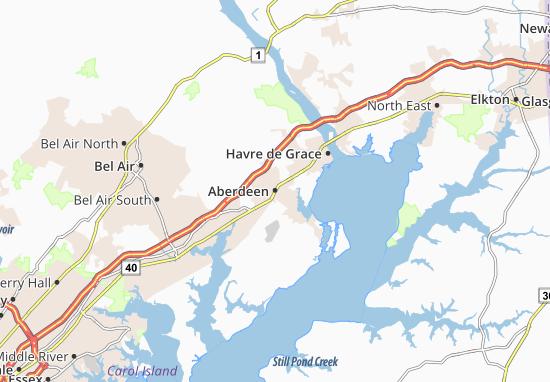 Aberdeen Map