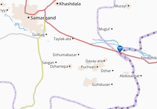 Mappe-Piantine Dzhumabazar